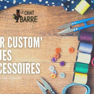 Atelier custom' fringues et accessoires